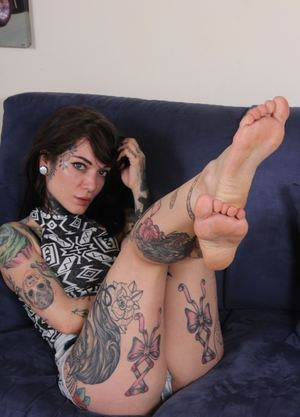 Hot Foot Fetish Sex Photos
